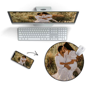 Custom Photo Mouse Pad For lovers