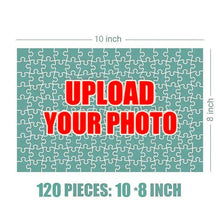 Load image into Gallery viewer, Personalized Family Photo Jigsaw Puzzle  - 120-1000 pieces