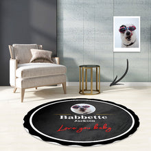 Load image into Gallery viewer, Classic Guinness beer carpet round rugs bedroom living room mat