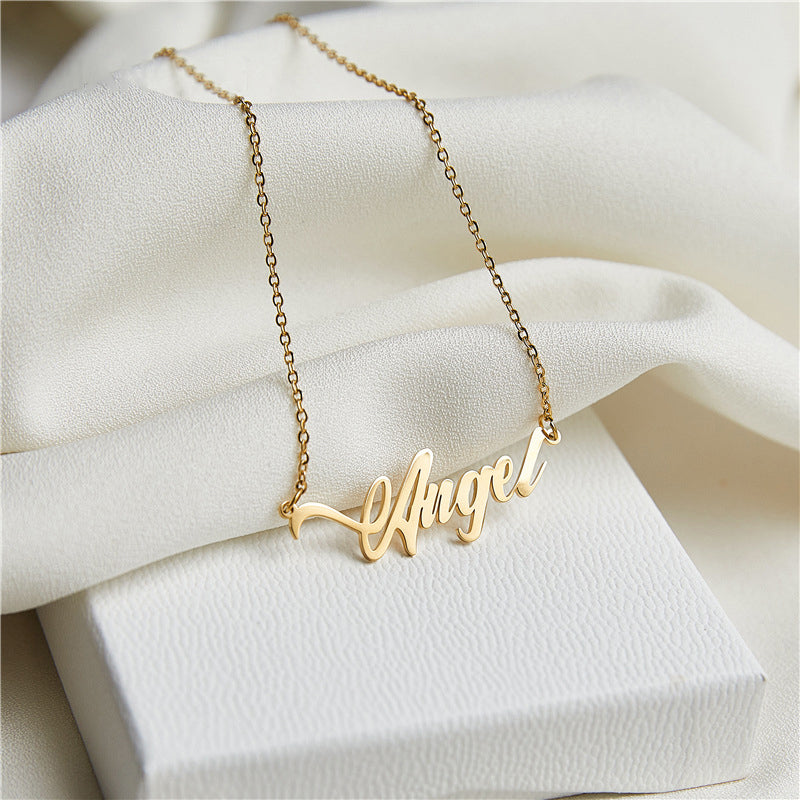 Custom Name Necklace Mom Birthday Gift Personalized Jewelry