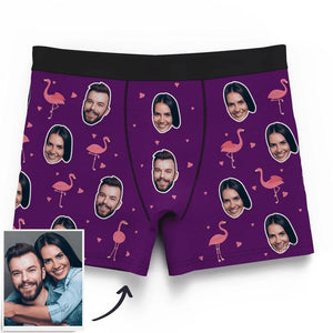Custom Christmas Smash Face Panties Men's Panties