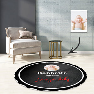 Classic Guinness beer carpet round rugs bedroom living room mat