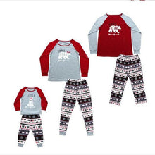Load image into Gallery viewer, Christmas Grey Beer Family Matching Pajamas Set