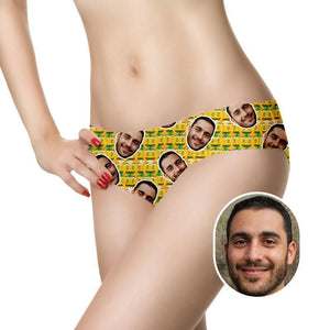 Custom Smash Face Panties - faceonboxer
