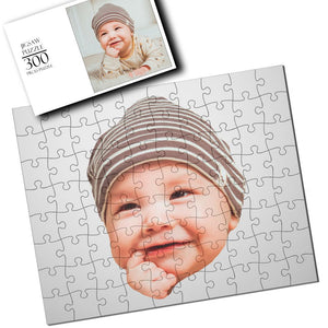 Personalized Baby Photo Jigsaw Puzzle - 35-1000 pieces
