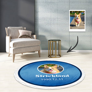 Classic Corona beer rug round carpet living room mat
