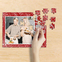 Load image into Gallery viewer, Personalized Happy Mother's Day Photo Jigsaw Puzzle - 35-1000 pieces