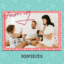Load image into Gallery viewer, Personalized Photo Jigsaw Puzzle To The Warm Family - 35-1500 pieces - faceonboxer