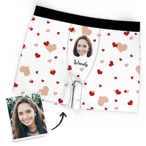 Custom Boxer Faces Men's Panties