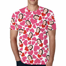 Load image into Gallery viewer, Custom Photo Face T-shirt