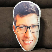 Load image into Gallery viewer, Custom Face Pillow, create your own pillow, crazy face pillow gift, multiple sizes to choose