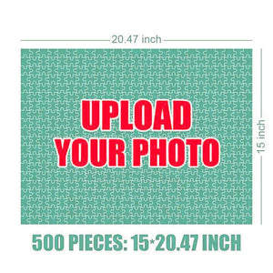 Personalized Photo Jigsaw Puzzle - 35-1000 pieces