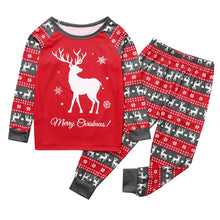 Load image into Gallery viewer, Christmas Elk Pajama Set for parent and child