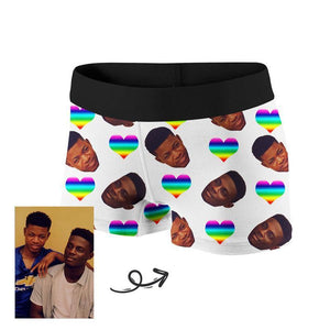 Custom Love Pride Boxer - faceonboxer