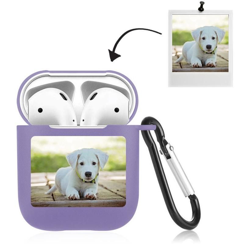 Airpods Case Custom Photo Lovely Dog