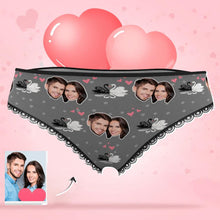 Load image into Gallery viewer, Custom Valentine's Day Gift Smash Face Panties