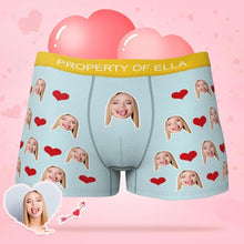Load image into Gallery viewer, Custom Multicolor Boxer Faces Men's Panties