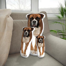 Load image into Gallery viewer, Custom Boxer Dog Body Shape Pillow| Body Shaped Pillow | One/Double Sides Print | Create Your Own Cute Pillow | Surprise Gift