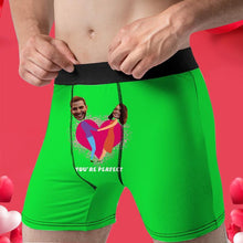 Load image into Gallery viewer, Custom Boxer Faces Men's Panties- You're Perfect