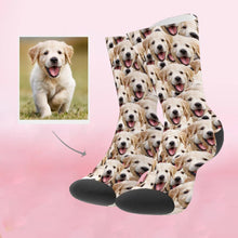 Load image into Gallery viewer, Custom Perfect Gift Face Socks Photo Socks