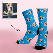 Load image into Gallery viewer, Custom Dog Pet Photo Socks