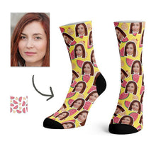 Load image into Gallery viewer, Custom Watermelon Socks -