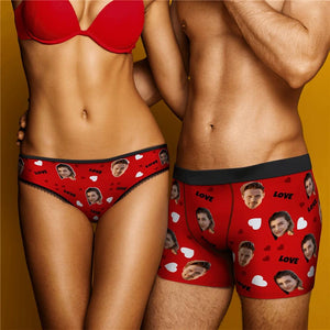 Custom Christmas Smash Face Panties