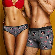 Load image into Gallery viewer, Custom Christmas Smash Face Panties Men's Panties