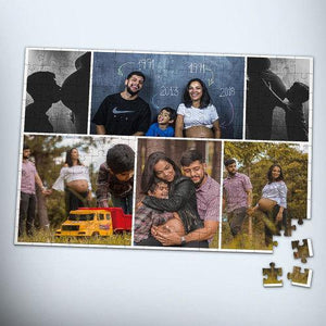Personalized Family Photo Jigsaw Puzzle  - 120-1000 pieces