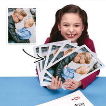 Load image into Gallery viewer, Jumbo Playing Cards Custom Made Poker Cards Plus Size Personalized Playing Cards