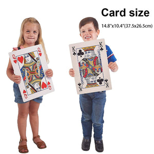 Photo Playing Cards Personalized Super Jumbo Custom Print  Creative Gifts