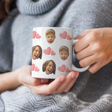 Load image into Gallery viewer, Personalized Mug,Custom Photo Mug,Gift for Mom,Full of Heart