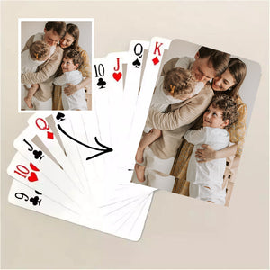 Custom Made Poker Cards Mini Traveling Deck Playing Cards