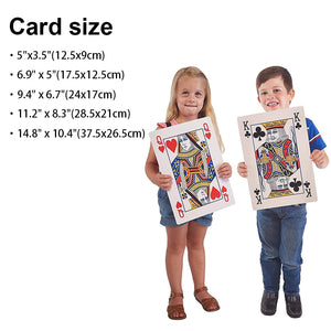 Jumbo Playing Cards Custom Made Poker Cards Plus Size Personalized Playing Cards