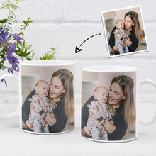 Load image into Gallery viewer, Personalized Mug,Custom Photo Mug,Gift for Mom,Mom and Baby