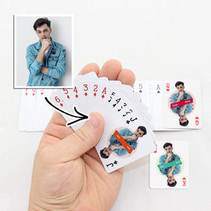 Photo Playing Cards Printed  Mini Size Personalized Creative Gifts