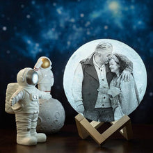 Load image into Gallery viewer, Touch 3 Colors - Christmas Cute Gift Engraved Photo Moon Lamp - faceonboxer