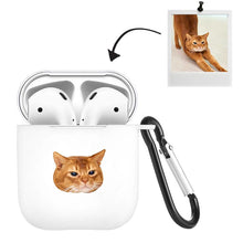 Load image into Gallery viewer, Airpods Case Custom Photo Lovely Cat