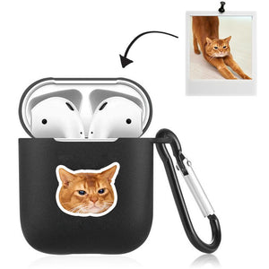 Airpods Case Custom Photo Lovely Cat
