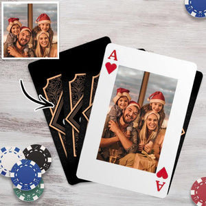 Custom Poker Cards Personalized Double-Side Playing Cards
