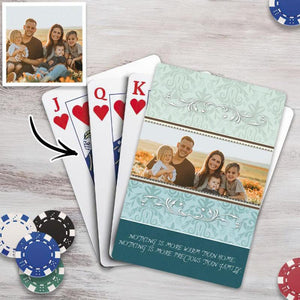 Custom Poker Cards Personalized Playing Cards