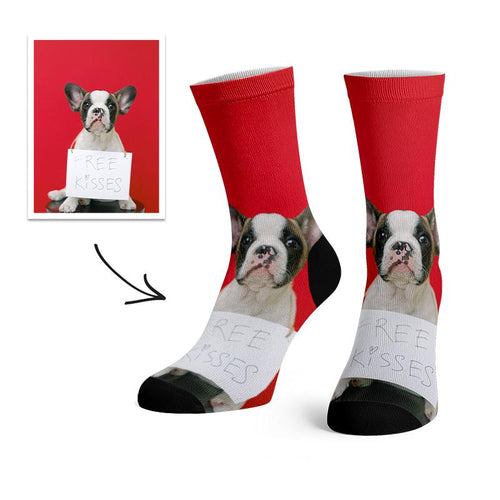 Custom Love Pet Socks -