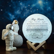 Load image into Gallery viewer, Best Gift Engraved Moon Lamp My Mom I Love You