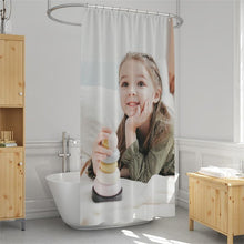Load image into Gallery viewer, Custom Shower Curtain Unique Gift for Baby - faceonboxer