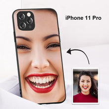 Load image into Gallery viewer, Custom Face Full Of The Screen Photo Protective Phone Case