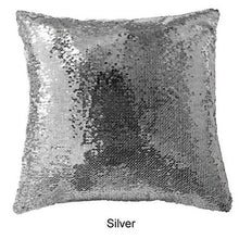 "Load image into Gallery viewer, Custom Photo Baby Magic Sequins Pillow Multicolor Shiny Gift 15.75""*15.75"""