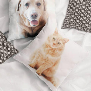 "Custom Pet Photo Throw Pillow 15.75""*15.75"""