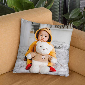 "Custom Baby Kids Photo Throw Pillow Sweetheart Home Decors 15.75""*15.75"""