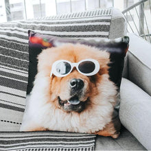 "Load image into Gallery viewer, Custom Pet Photo Throw Pillow 15.75""*15.75"""