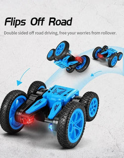 CHRISTMAS LIMITED TIME OFFER-GESTURE CONTROL - DOUBLE-SIDED STUNT CAR